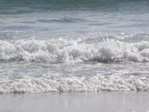 Water, één van de vijf elementen waar mee gewerkt wordt bij acupunctuur.